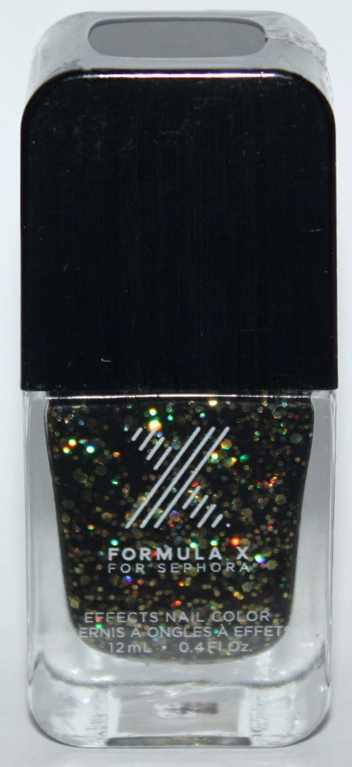 Explosive Nail Color -FORMULA X For Sephora Effects Nail Color Polish Lacquer .4 oz