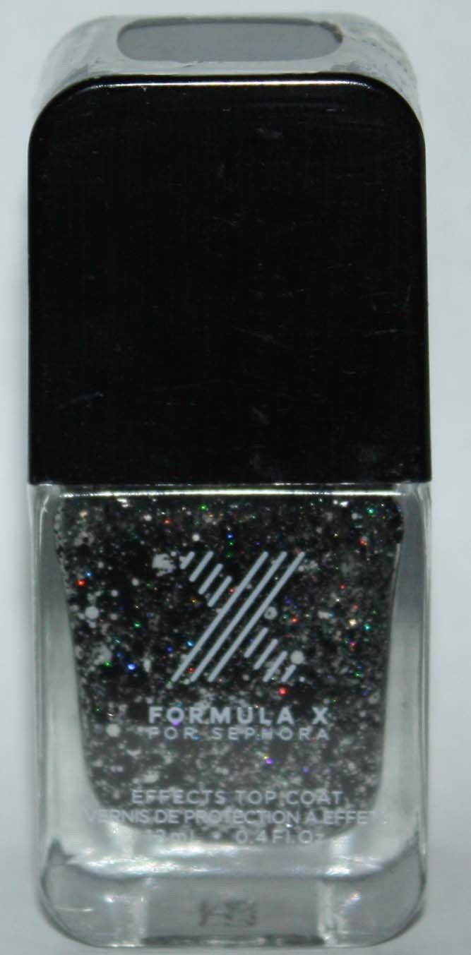 Meteoric Top Coat -FORMULA X For Sephora Effects Nail Color Polish Lacquer .4 oz