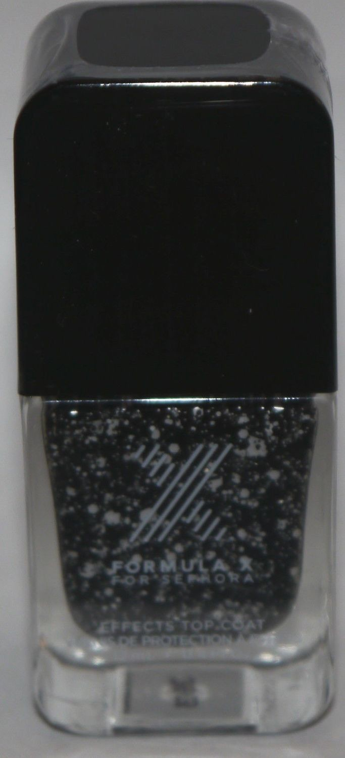 Chaotic Top Coat -FORMULA X For Sephora Effects Nail Color Polish Lacquer .4 oz