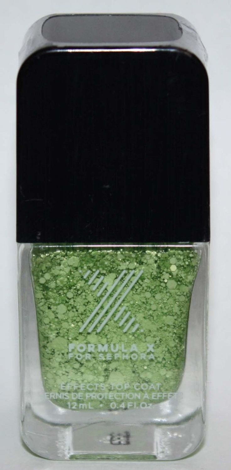 Maniacal Top Coat​ -FORMULA X For Sephora Effects Nail Color Polish Lacquer .4 oz