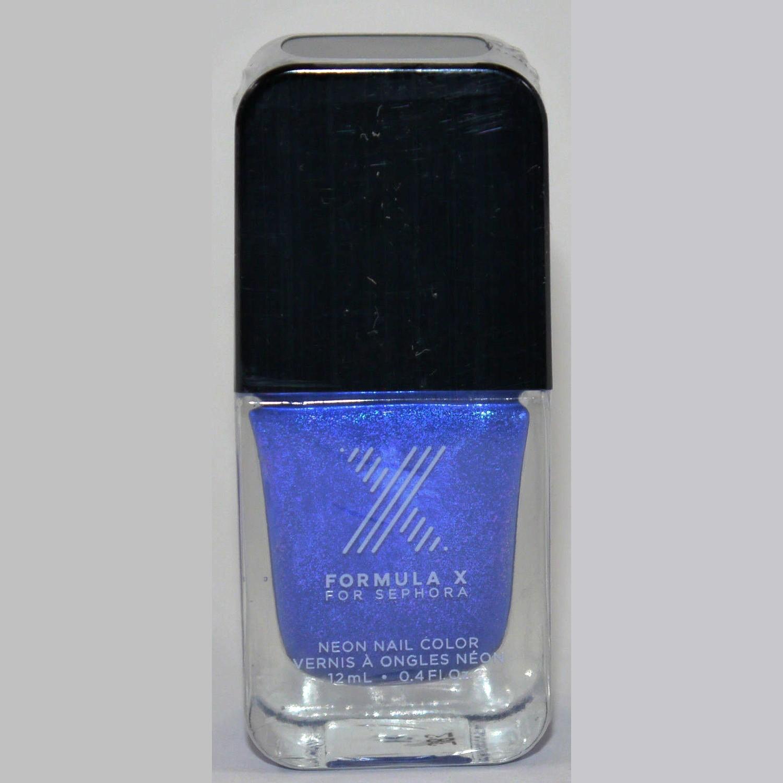 Kapow! Neon Nail Color -FORMULA X For Sephora Effects Nail Color Polish Lacquer .4 oz