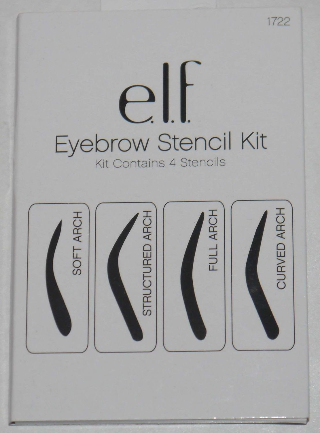 elf Cosmetics 4 Shapes Eyebrow Stencil Kit #1722