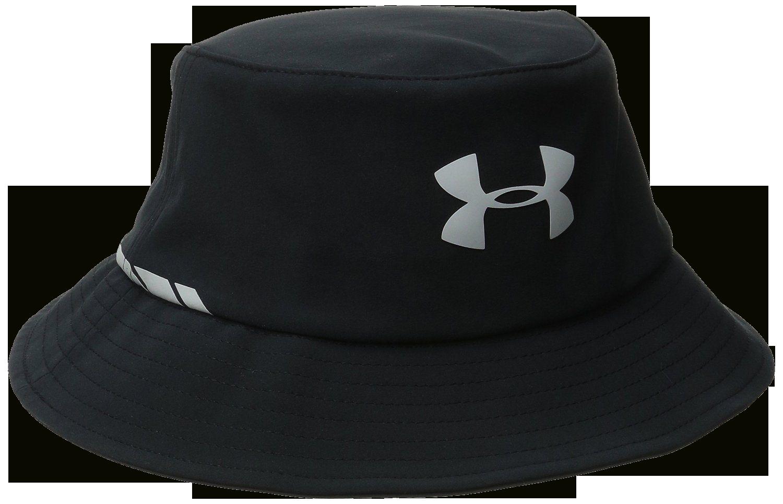 Under Armour Golf Men's Black/Gray UA Elements Bucket Hat (Large/X-Large)