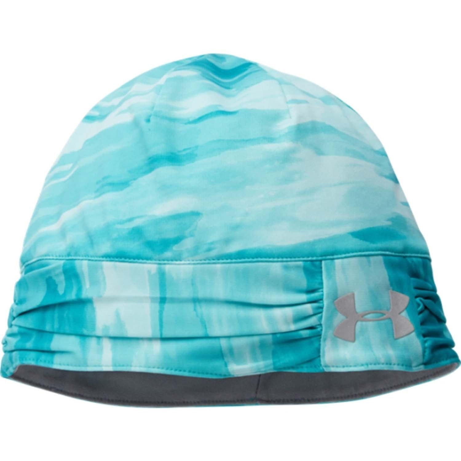 Under Armour Coldgear INFRARED Women's Aqueduct/Steel UA Cozy Beanie Hat (One Size)