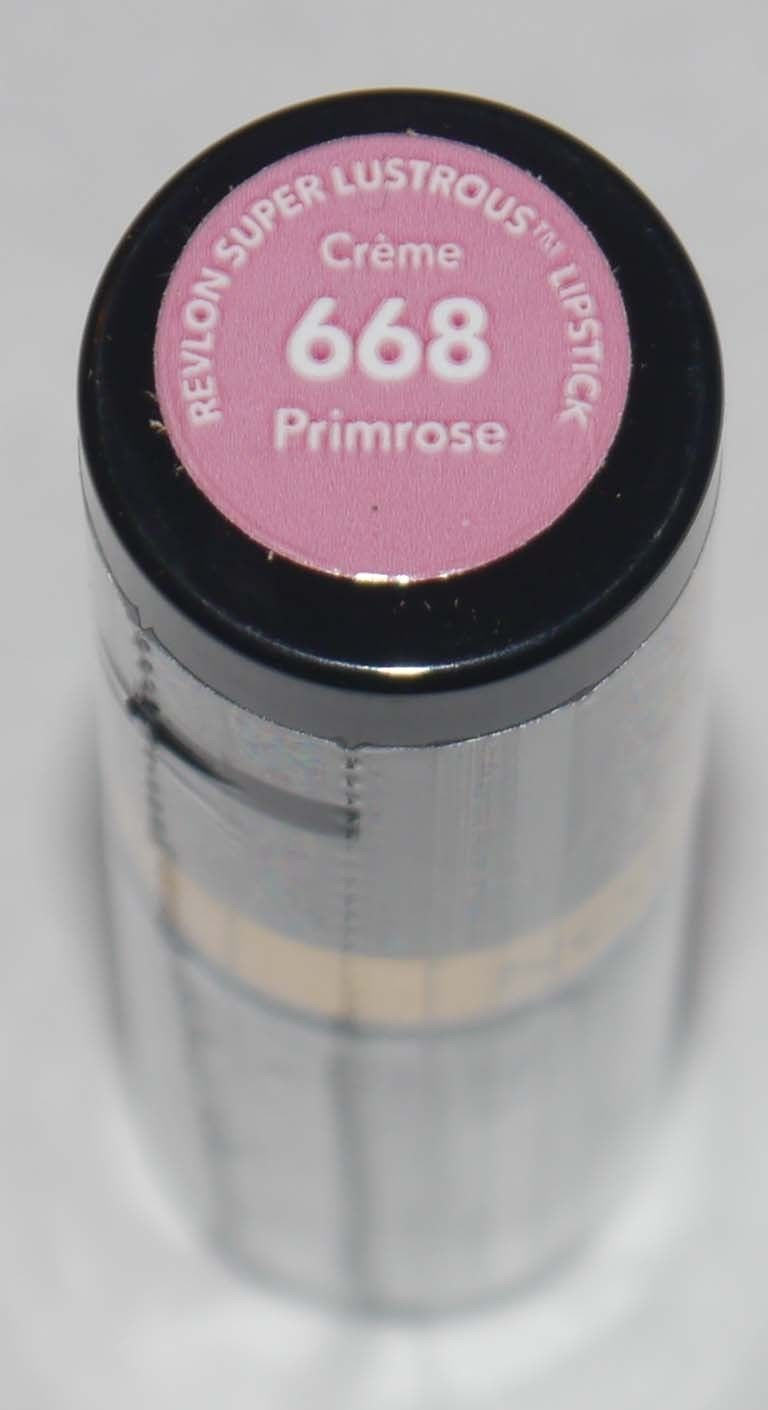 Revlon Super Lustrous CREME Lipstick .15 oz  -Primrose #668