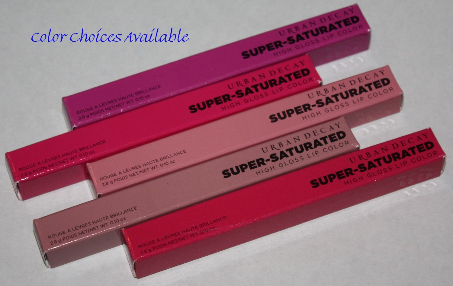 Urban Decay Super-Saturated High Gloss Lip Color 0.10 oz