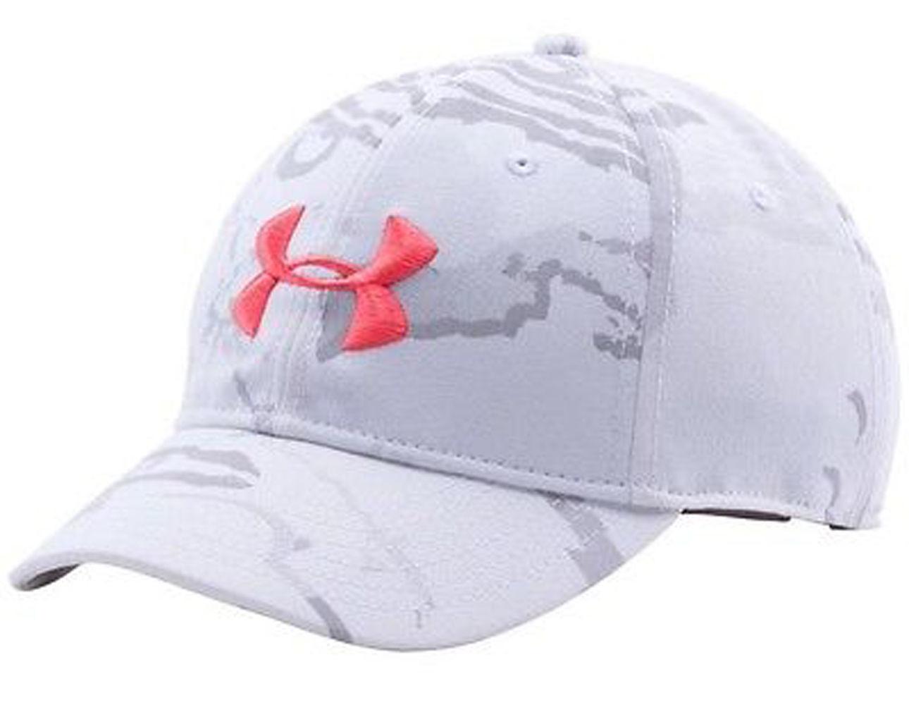 Under Armour Women's Ridge Reaper Snow Camo/Perfection UA Snap Back Cap