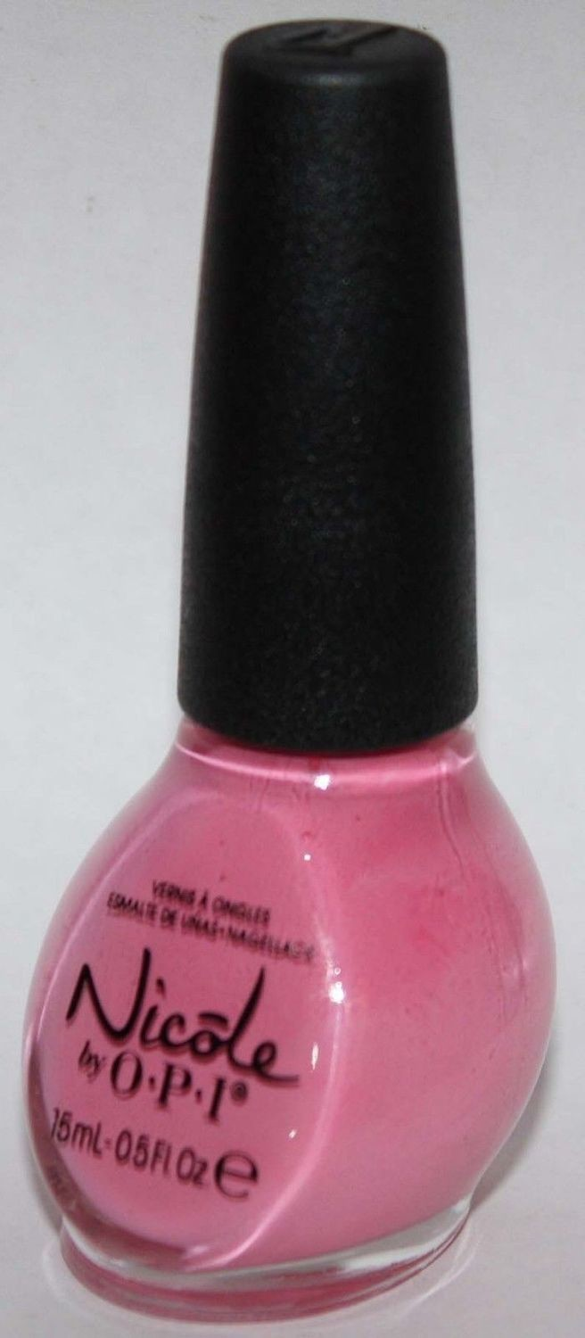 IN SYNC WITH PINK -Nicole By OPI Nail Polish Lacquer .5 oz