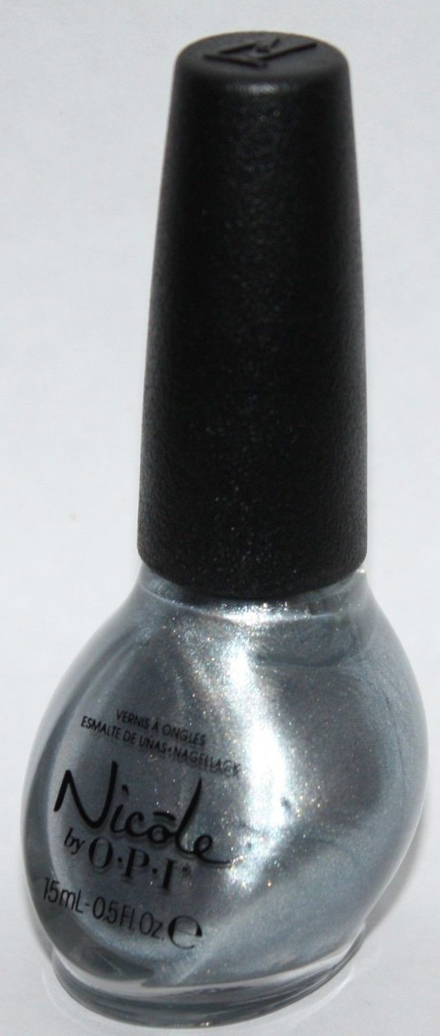 ALWAYS A SILVER LINING -Nicole By OPI Nail Polish Lacquer .5 oz