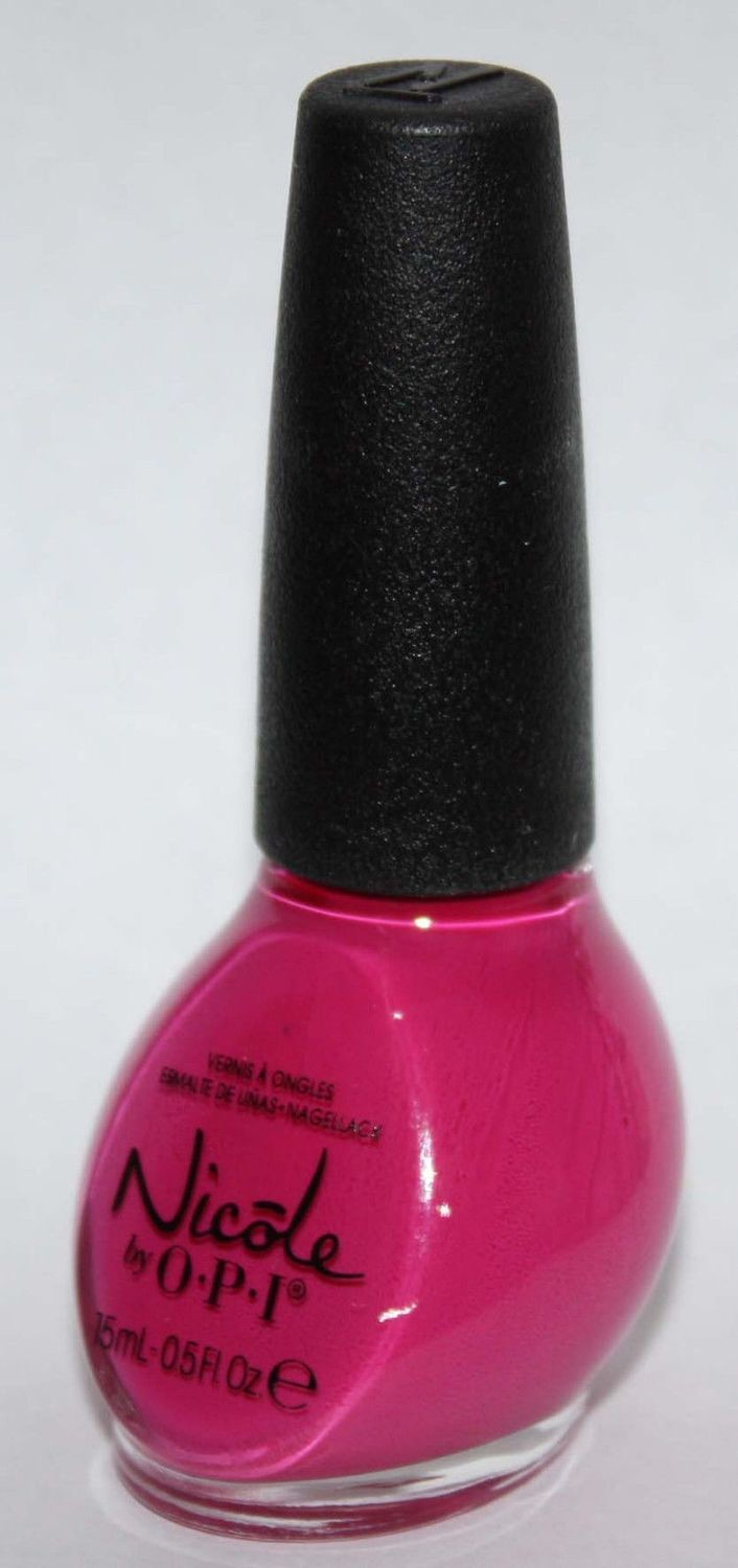 STRAWBERRY CUPCAKE -Nicole By OPI Nail Polish Lacquer .5 oz