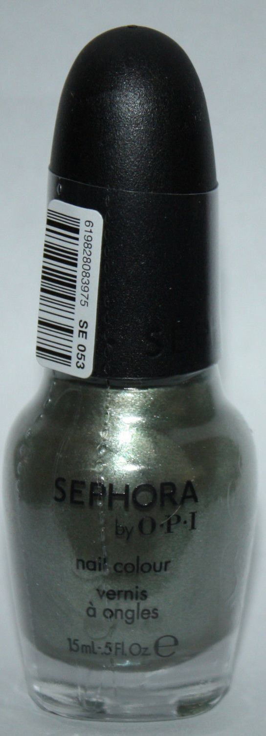 A Color That Can't Be Tamed -Sephora By OPI Nail Polish Lacquer .5 oz