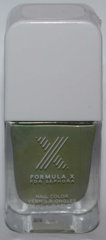 Quantum Nail Color -FORMULA X For Sephora Effects Nail Color Polish Lacquer .4 oz