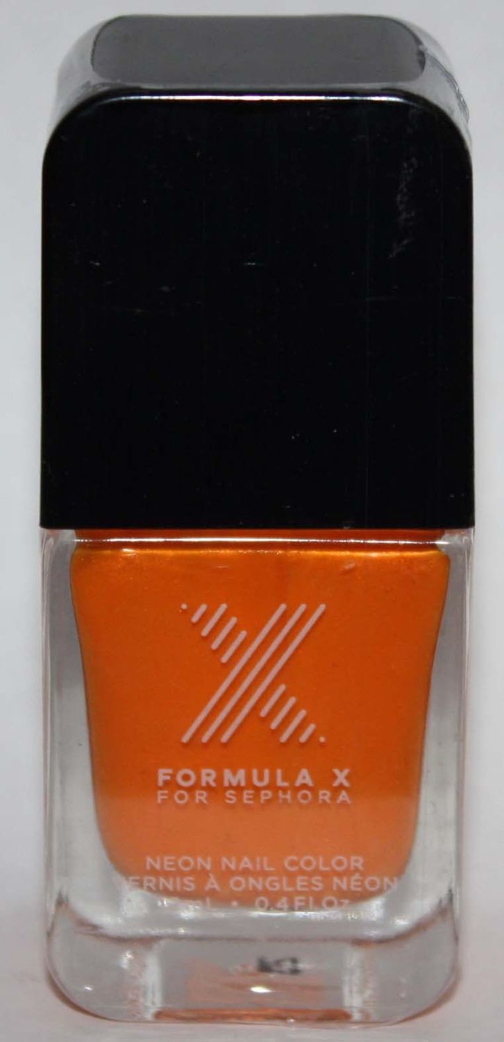 Seismic Neon Nail Color -FORMULA X For Sephora Effects Nail Color Polish Lacquer .4 oz