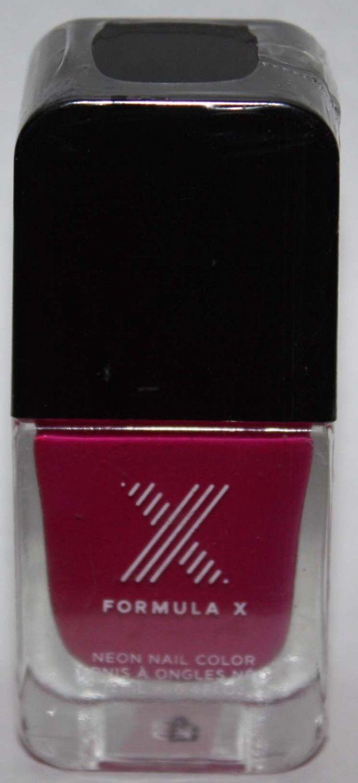Phenomena Neon Nail Color -FORMULA X For Sephora Effects Nail Color Polish Lacquer .4 oz