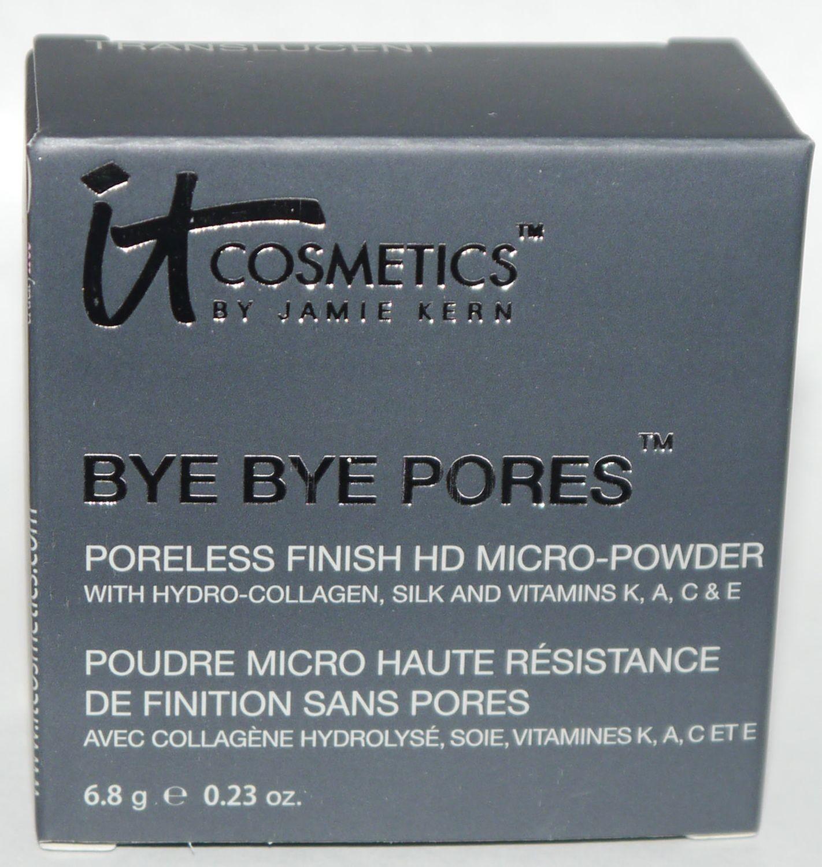 It Cosmetics Bye Bye Pores Translucent Silk HD Anti-Aging Micro-Powder 0.23 oz