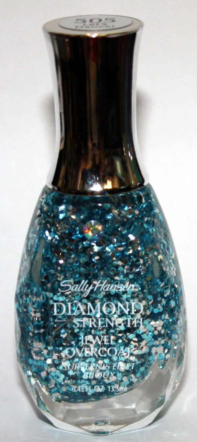 Sally Hansen #505 LET'S DANCE Diamond Strength Nail Polish .45 oz