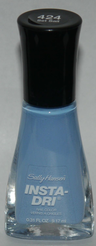Set Sail - Sally Hansen INSTA-DRI Fast Dry Nail Color Polish Lacquer 0.3 oz