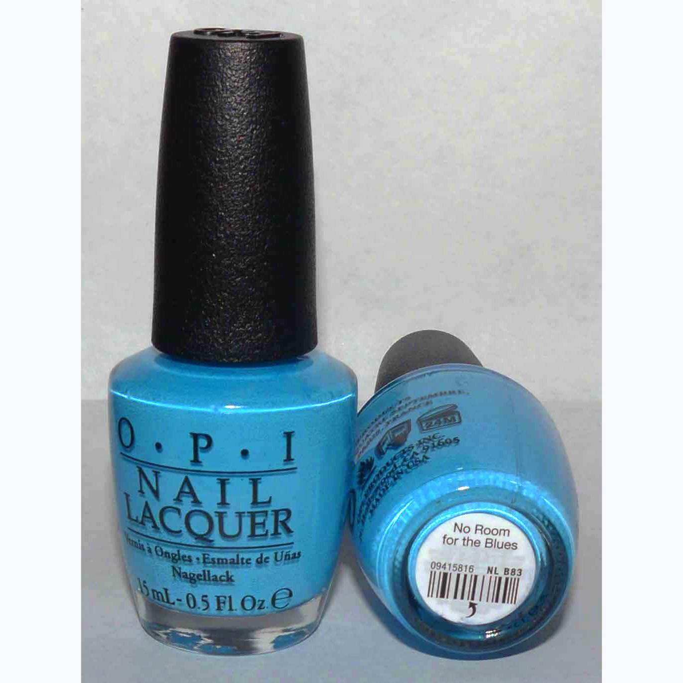 No Room for the Blues - OPI Nail Polish Lacquer 0.5 oz