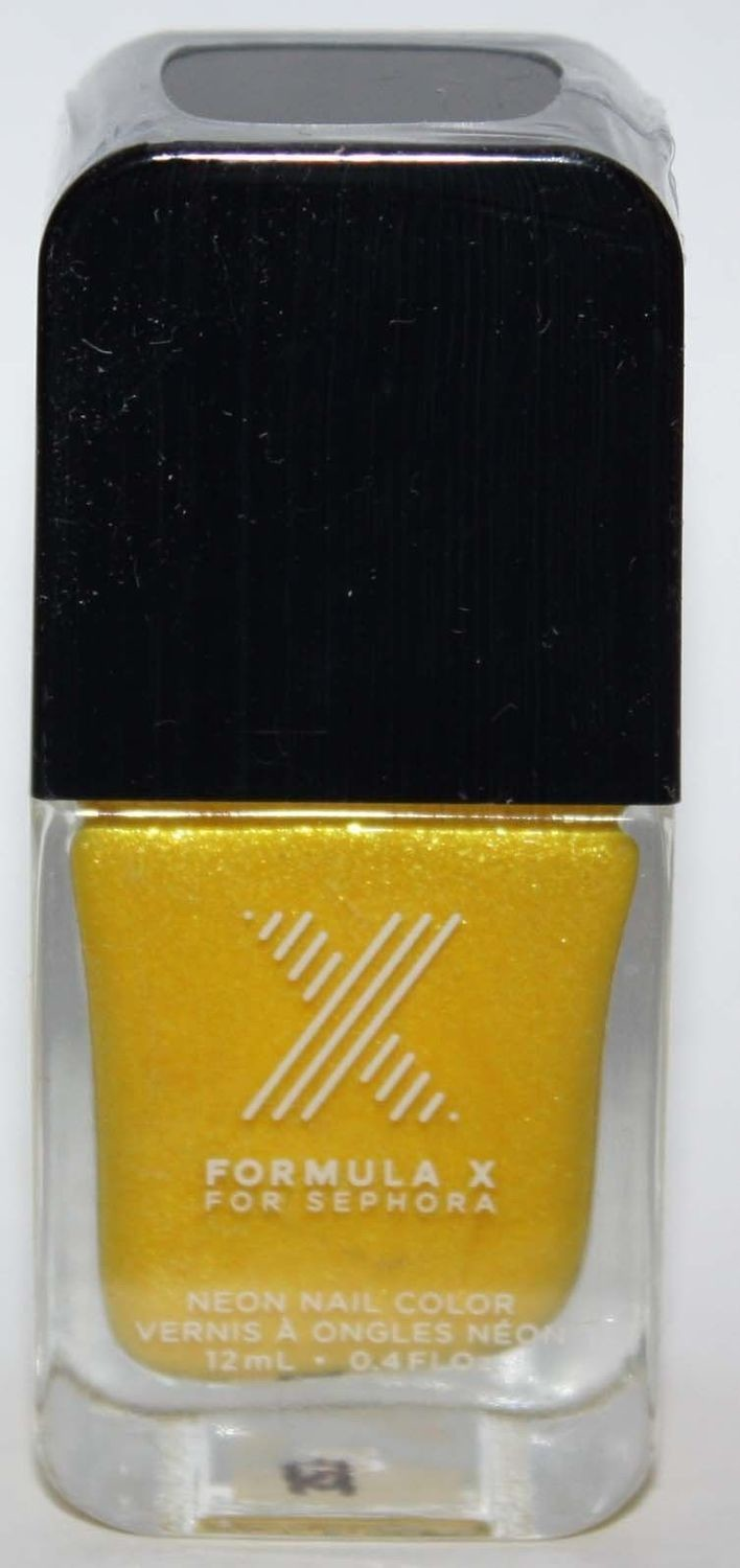 Turbo Neon Nail Color -FORMULA X For Sephora Effects Nail Color Polish Lacquer .4 oz