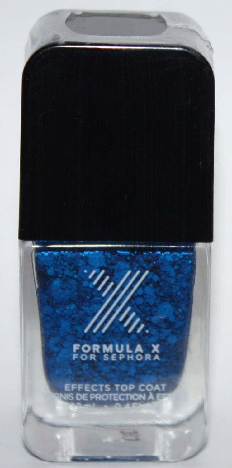 TNT Top Coat​ -FORMULA X For Sephora Effects Nail Color Polish Lacquer .4 oz