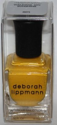 WALKING ON SUNSHINE - deborah lippmann Luxurious Nail Color Polish .50 oz