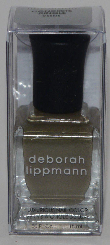 Concrete Jungle - deborah lippmann Luxurious Nail Color Polish .50 oz