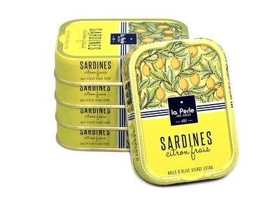 La Perle des Dieux Sardines Citron Frais