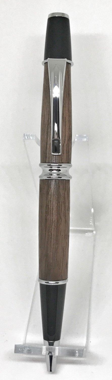 Babbio Chrome Pen in Walnut