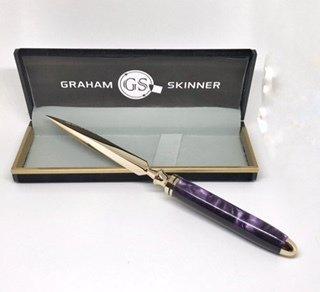 Double Great Letter Opener in Purple