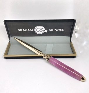 Double Great Letter Opener in Pink
