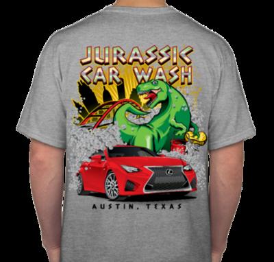Jurassic Car Wash T-Shirt (S-XL)