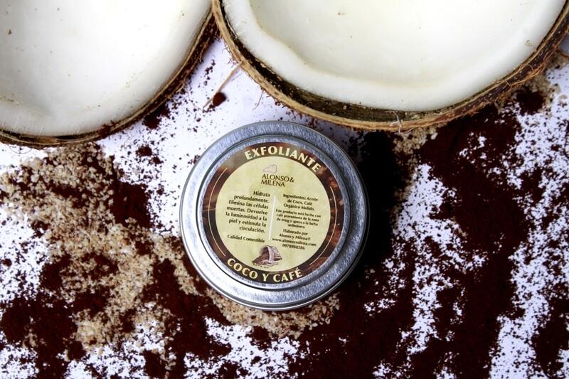 Exfoliante Coco y Café