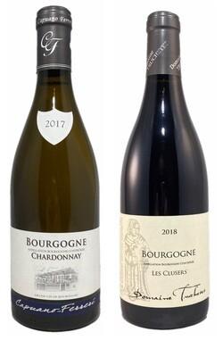 Coffret Découverte 2 bouteilles de Bourgogne (un Rouge et un Blanc)