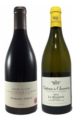 Coffret Amateur 2 bouteilles de Bourgogne (un Rouge et un Blanc)