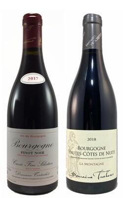 Coffret Découverte 2 bouteilles de Bourgogne (deux Rouges)