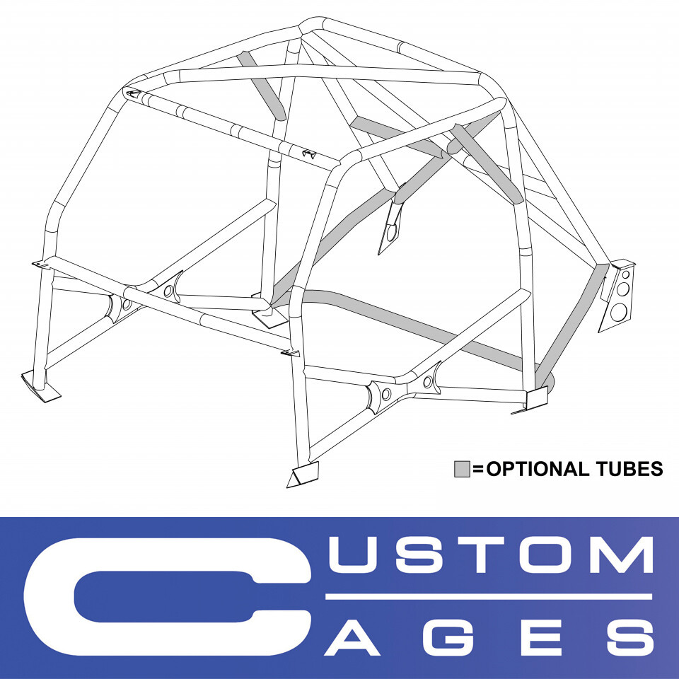 Custom Cages - Mini Historic T45 roll cage