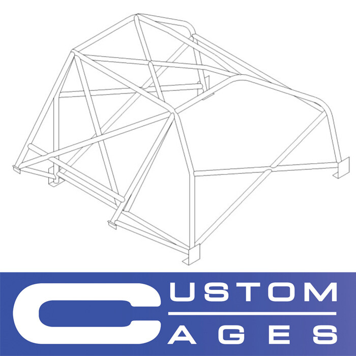 Custom Cages - BMW E9 CSL Historic T45 roll cage