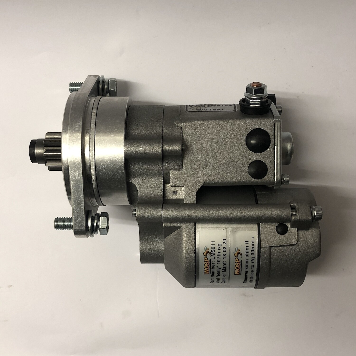 WOSP Classic Mini High Torque Competition Starter Motor