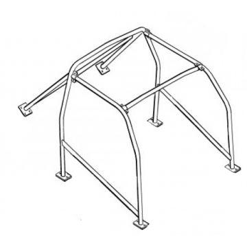 Custom Lenham GT Roll Cage