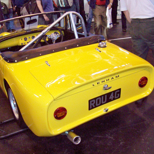 Lenham GTO Rear