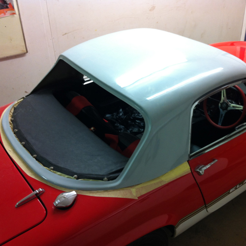 Lenham Lotus Elan S3 S4 and Sprint Hard Top Kit