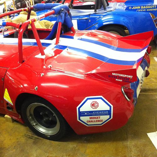 GSR Racing Frogeye Rear