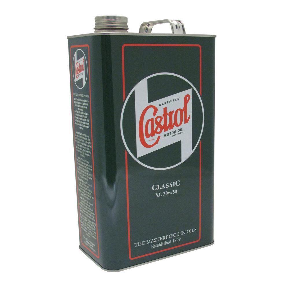 Castrol Classic Engine Oil - XL20W50
