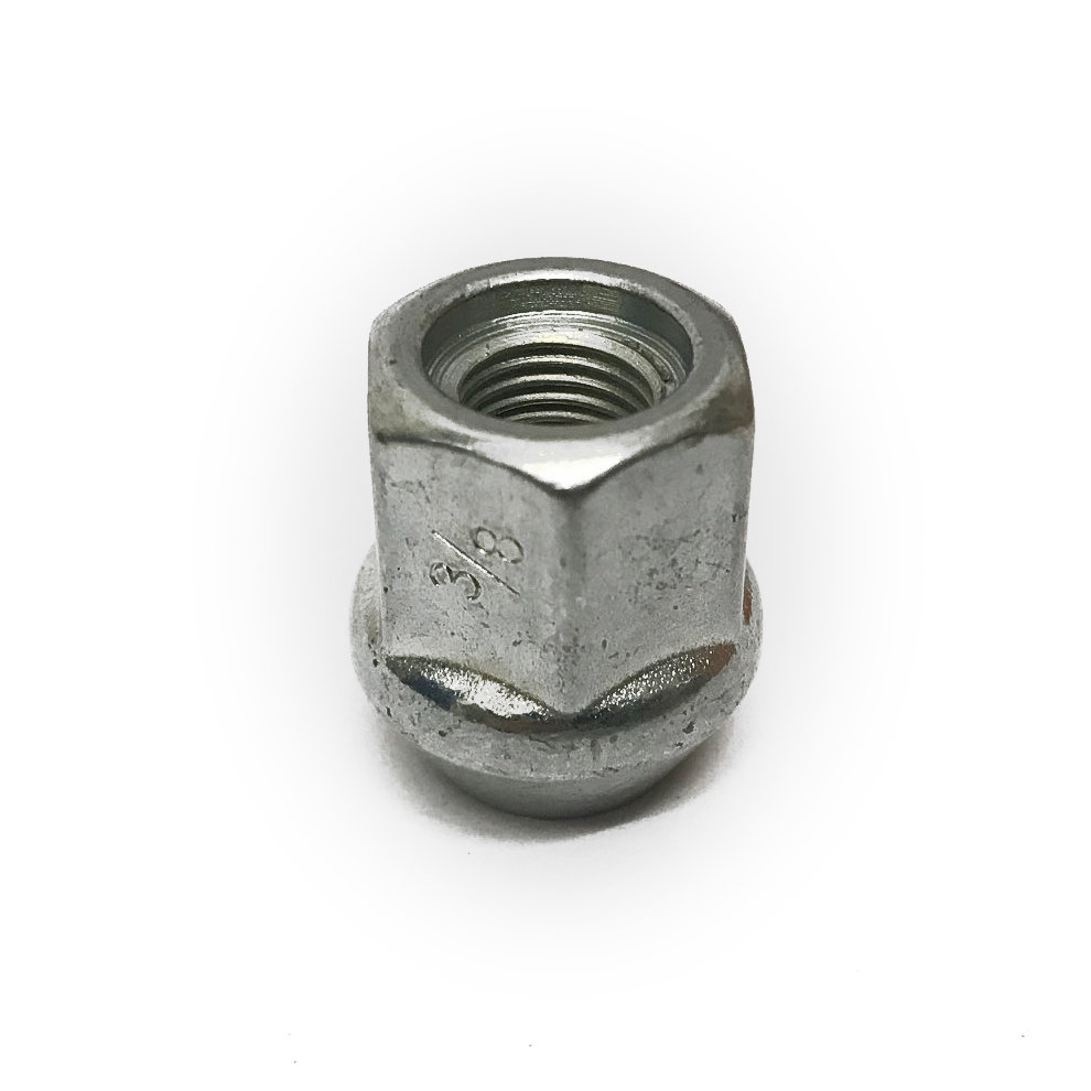 """3/8"""" UNF competition open bulge wheel nut"""