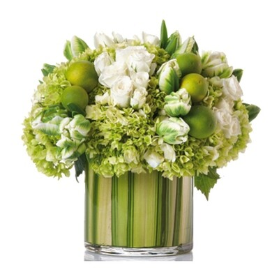 Green & White Hydrangea Mix