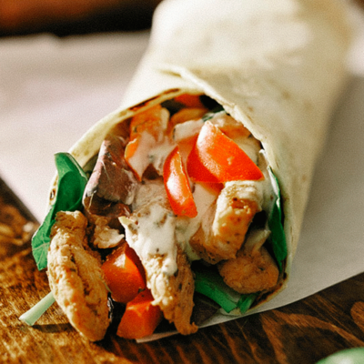 SAMPLE. Chicken Burrito