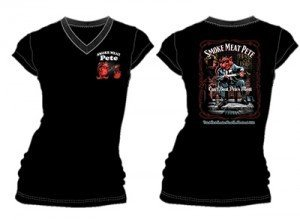 Women's SMP black T-shirt