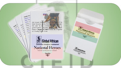 GACED National Heroes - Heritage Game Playing Cards