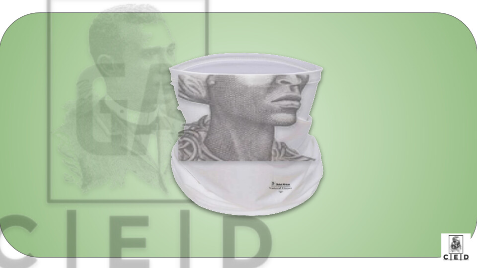 GACED National Heroes - Jamaica: Nanny of the Maroons (Face Cover)