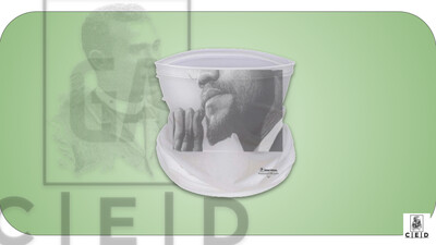 GACED National Heroes - USA: Malcolm X (Face Cover)